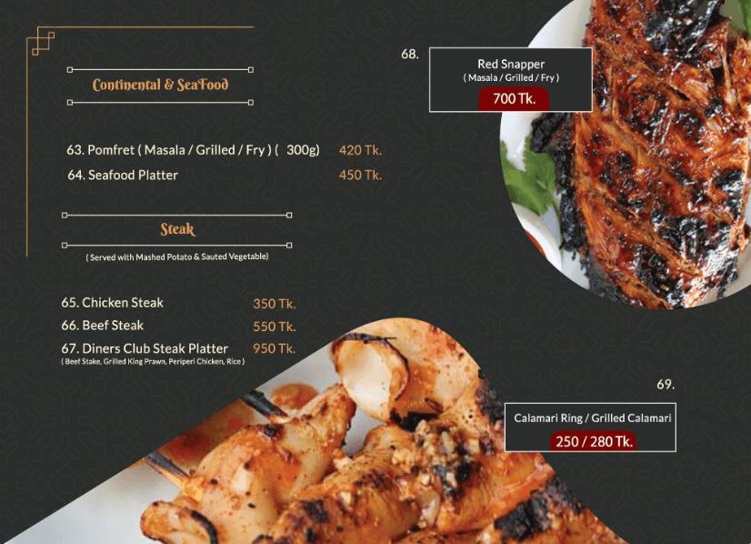 Diners Club Menu - Page 6